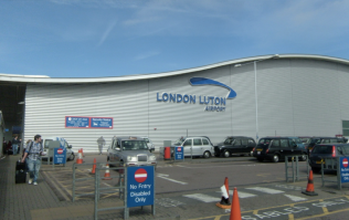 Four men detained on terrorism charges at Luton airport