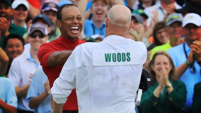 Tiger Woods on caddy advice that sparked his Masters comeback