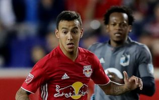 Major League Soccer player shown straight red for firing ball into crowd