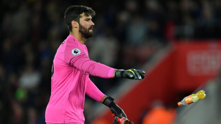 Alisson has equalled David de Gea's best ever season with four games to spare