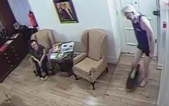 Leaked surveillance footage shows Julian Assange skateboarding around Ecuadorian embassy
