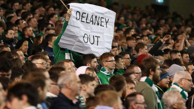 John Delaney voluntarily steps aside from his FAI role