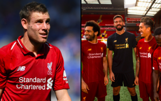 James Milner has brilliant response after Liverpool launch new home kit without him