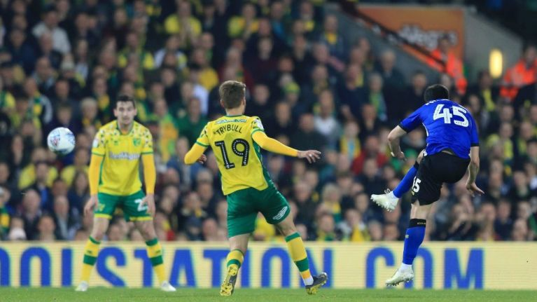 Fernando Forestieri scores absolute worldie against Norwich