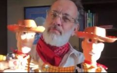 Tom Hanks films special Toy Story short for former conjoined Irish twins