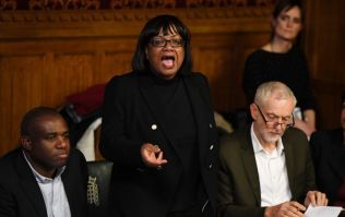 Diane Abbott apologises for drinking can mojito on London Overground