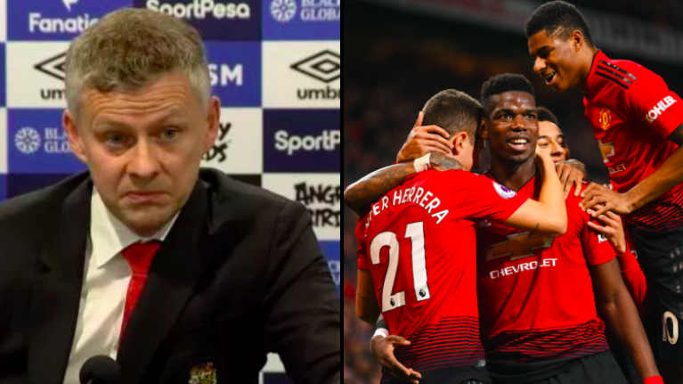 Solskjaer planning clear out after Manchester United players' reaction to Everton defeat