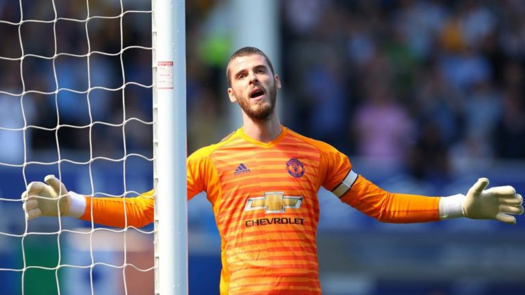 De Gea posts apology for Manchester United's performance against Everton