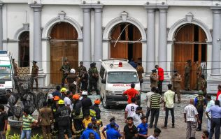 Van explodes in the street as Sri Lanka police attempt to defuse latest bomb