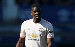 "Paul Pogba apologises for ""disrespectful"" display against Everton"