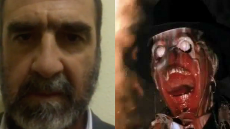 Dissecting Eric Cantona's video of a penis smashing an egg