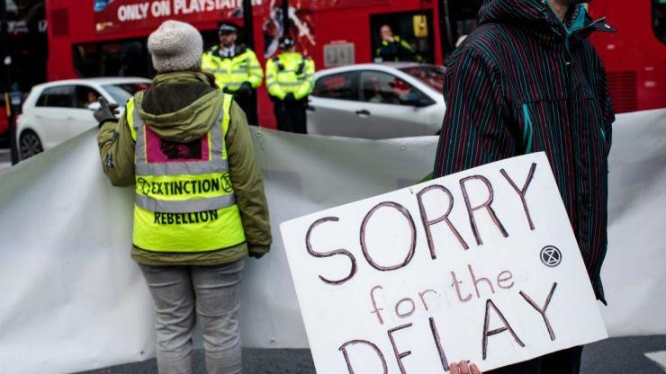 Extinction Rebellion London protests will finish tomorrow