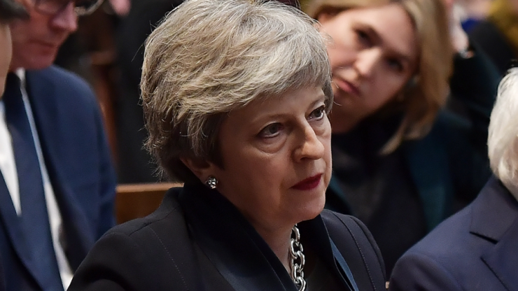 Theresa May breaks Conservative Home record for most unpopular cabinet minister, behind even Chris Grayling