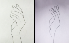 I spent an entire day trying to do that viral hand drawing and now the light in my life has gone out