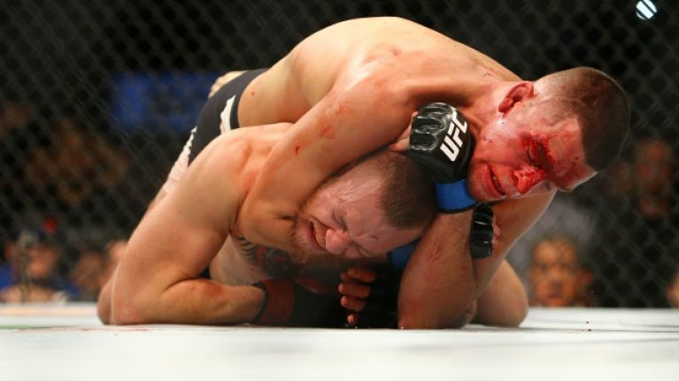 Nate Diaz has been removed from the UFC rankings