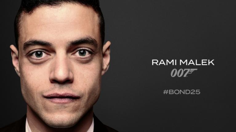 Rami Malek confirmed to star in Bond 25