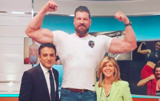 The 'world's tallest bodybuilder' makes The Mountain look tiny