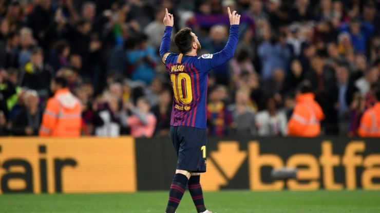 Lionel Messi comes off the bench to score title winning goal for Barcelona