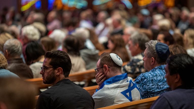 One person has died after a mass shooting in a San Diego synagogue
