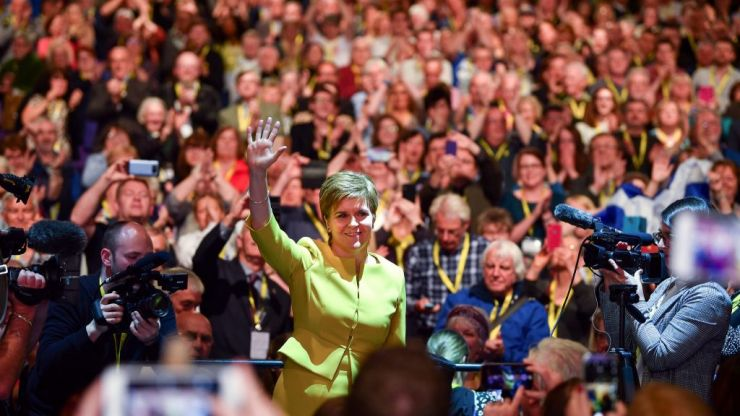 Nicola Sturgeon declares climate emergency at SNP conference