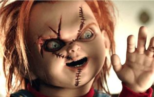 Chucky murders Woody from Toy Story on poster for the new Child's Play movie
