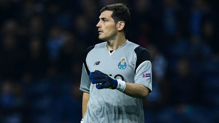 wholesale dealer c8749 a8568 Iker Casillas hospitalised after suffering heart attack in ...