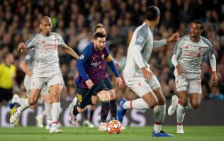 Liverpool fans start petition to get Messi banned for 'punching' Fabinho