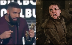Drake practically seals the fate of Arya Stark with shoutout at Billboard awards