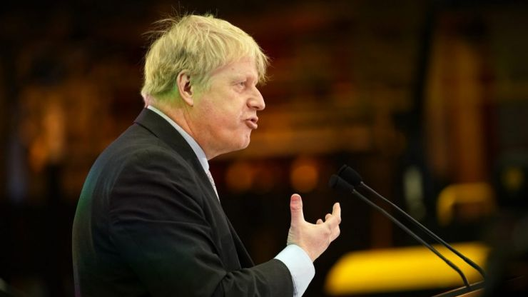 Boris Johnson swiftly deletes tweet about local elections vote