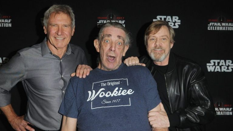 Star Wars actor Peter Mayhew has died aged 74
