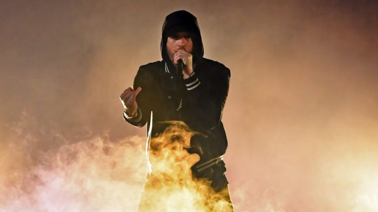 Eminem includes comedian who did amazing viral impression of him on new track
