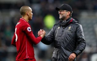 Rival fans rage at Fabinho 'dive' which led to Liverpool's crucial winner