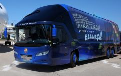 Merseyside police shut down rumours the Barcelona team bus was stolen in Liverpool