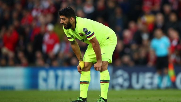 Luis Suarez's own shithousery effectively cost Barcelona the tie