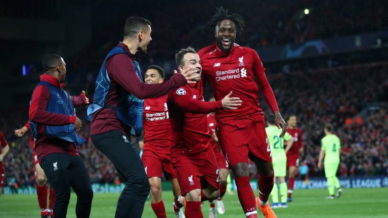 Liverpool pull off miraculous comeback to reach second consecutive Champions League final