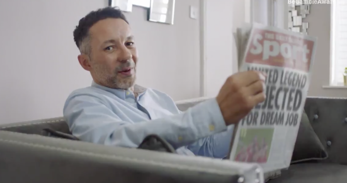Rhodri Giggs responds after Paddy Power advert banned