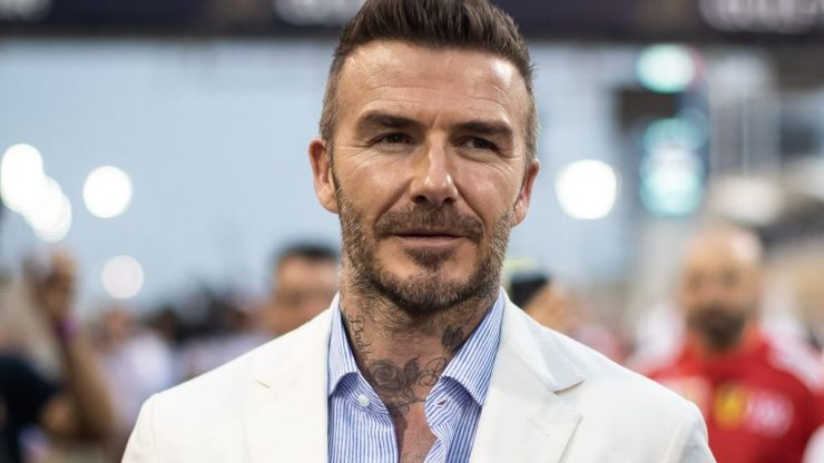 David Beckham hit with driving ban for using phone