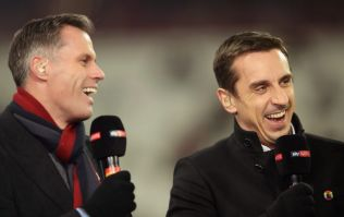 Jamie Carragher asks if Gary Neville has the balls to call Glazers out