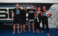Conor McGregor's coach puts WWE superstars through a gym workout
