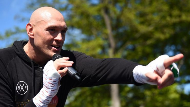 Tyson Fury clarifies stance on retirement and addresses Dillian Whyte order
