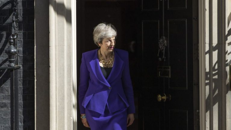 Theresa May adds kicking a football to the list of things she can't do like a normal person