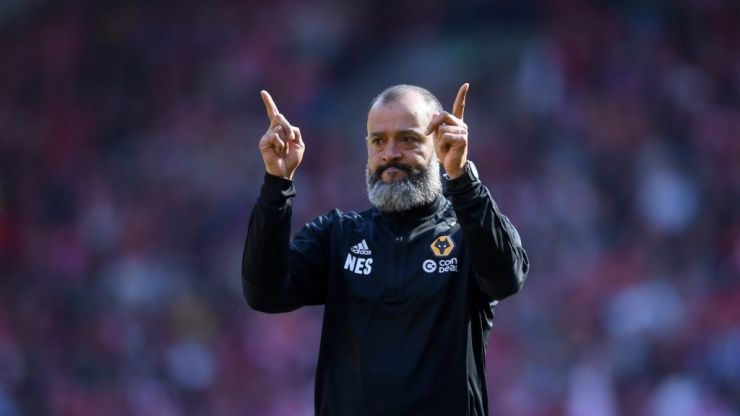 Literally two people turned up to Nuno Espirito Santo's press conference on Sunday
