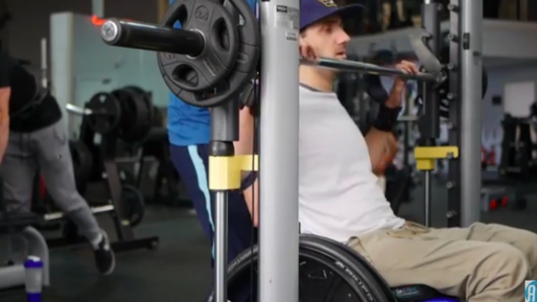 Quadriplegic personal trainer now helps people with disabilities get into shape