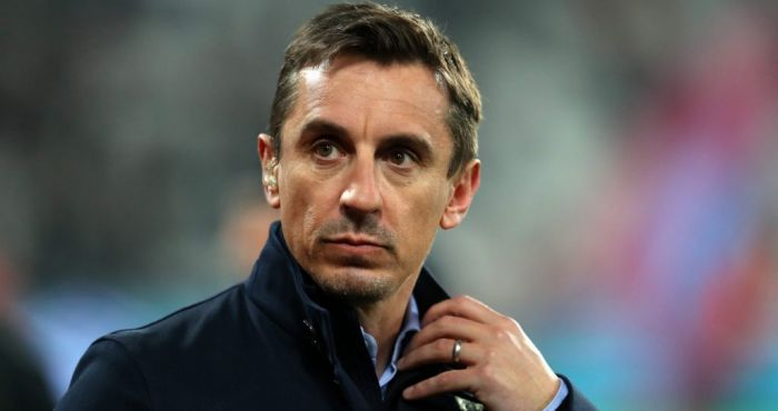 Manchester City fans throw beer at Gary Neville following win over Brighton