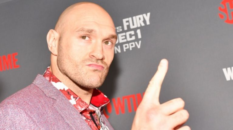 Tyson Fury names condition for fighting Dillian Whyte