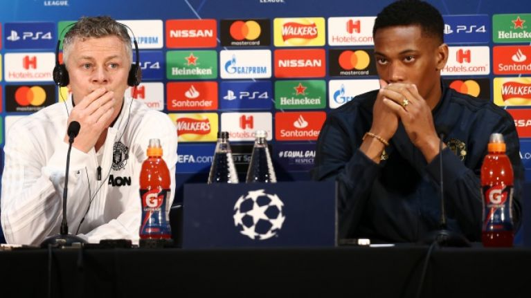 Ole Gunnar Solskjaer would be overruled in any attempt to sell Anthony Martial
