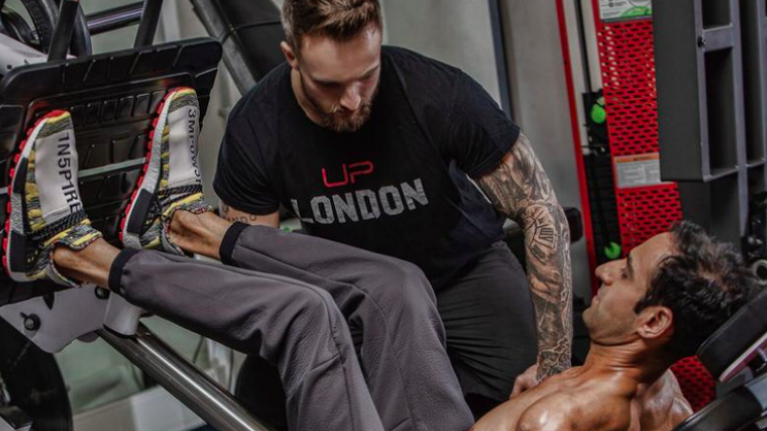 Marine who left military due to health problems shares workout which got him fighting fit
