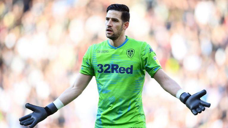 Leeds goalkeeper takes a hammering after error leads to Derby equaliser