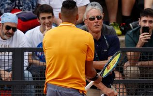 "Nick Kyrgios calls spectator ""f***ing retard"" before smashing his racquet"