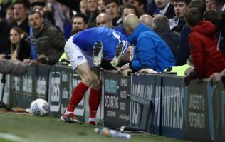 Sunderland player involved in pitchside altercation with Portsmouth supporters